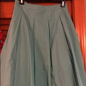 Size 12P Talbot's Wide Pleated skirt